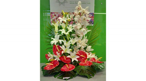 centro floral
