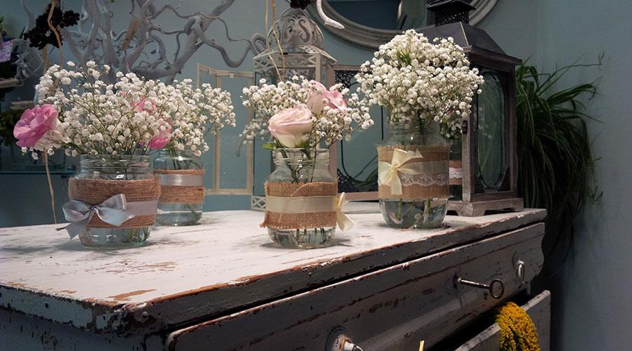Decoraci n floral en flores comos flores comos catarroja for Adornos con plantas de nochebuena