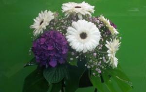 Adorno floral para mesa