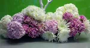 Centro floral de mesa