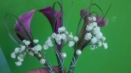 Adorno floral para novio y padrino