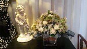 Decoración floral clásica